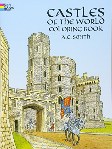9780486251868: Castles of the World Coloring Book (Dover History Coloring Book)