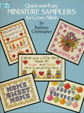 9780486252094: Quick and Easy Miniature Samplers for Cross-Stitch (Dover Needlework Series)
