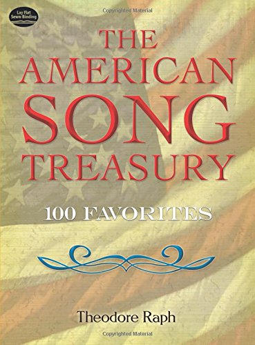 9780486252223: The American Song Treasury: 100 Favorites (Dover Song Collections)