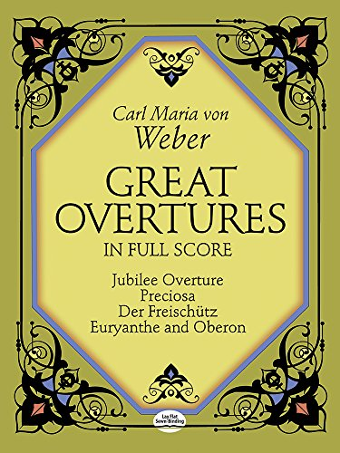 9780486252254: Great Overtures in Full Score (Dover Music Scores)