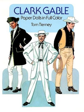 9780486252346: Clark Gable Paper Dolls in Full Color