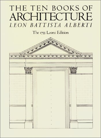 9780486252391: The Ten Books of Architecture: The 1755 Leoni Edition