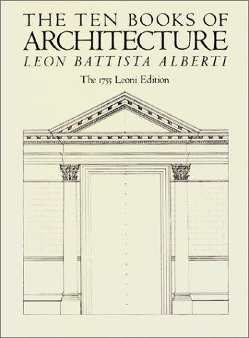 9780486252391: The Ten Books of Architecture: The 1755 Leoni Edition