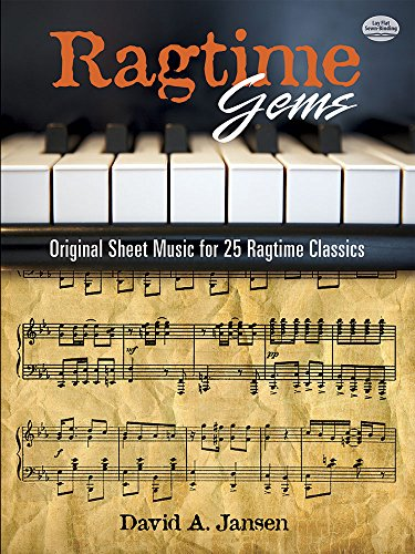 9780486252483: Ragtime Gems: Original Sheet Music for 25 Ragtime Classics (Dover Music for Piano)