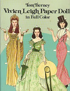 9780486252735: Clark Gable and Vivien Leigh Paper Dolls: 2 Complete Books