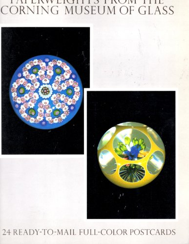 9780486252896: Paperweights from the Corning Museum of Glass, 24 Ready to Mail Full Color Postcards