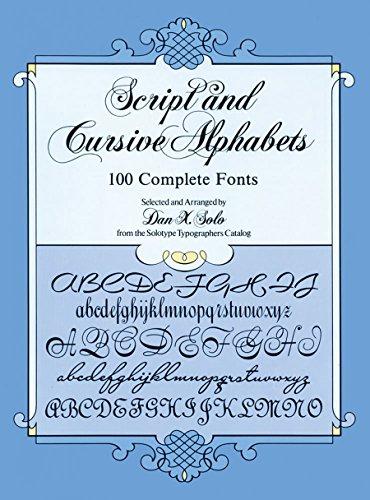 from script to cursive - AbeBooks