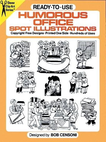 9780486253077: Ready-to-Use Humorous Office Spot Illustrations (Clip-Art)