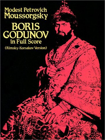 9780486253213: Boris Godunov in Full Score