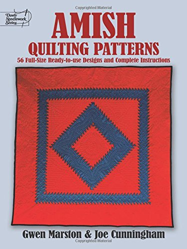 9780486253268: Amish Quilting Patterns: Full-Size Ready-to-Use Designs and Complete Instructions (Dover Quilting)