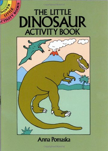 9780486253442: The Little Dinosaur Activity Book (Dover Little Activity Books)