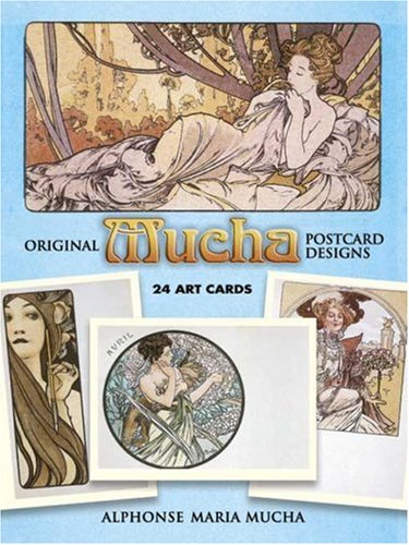 9780486253503: Original Mucha Postcard Designs: 24 Art Cards: 24 Ready-to-Mail Full-Colour Cards (Card Books)