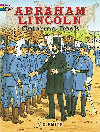 9780486253619: Abraham Lincoln Coloring Book (Dover History Coloring Book)