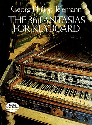 9780486253657: The 36 Fantasias for Keyboard (Dover Music for Piano)