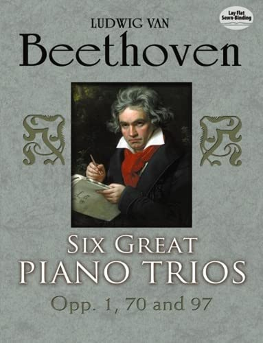9780486253985: Six Great Piano Trios in Full Score (Dover Chamber Music Scores)