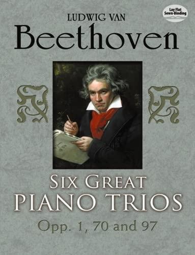 9780486253985: Six Great Piano Trios in Full Score