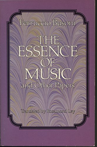 9780486254203: The Essence of Music and Other Papers