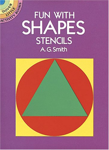 9780486254524: Fun with Shapes Stencils (Dover Little Activity Books)