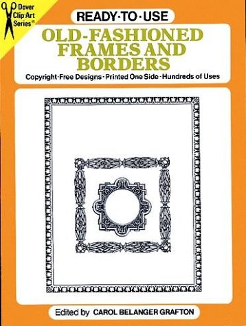 9780486254623: Ready-to-Use Old-Fashioned Frames and Borders (Dover Clip Art)