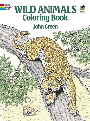 9780486254760: Wild Animals Coloring Book