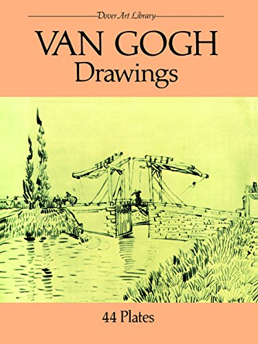 9780486254852: Van Gogh Drawings: 44 Plates (Dover Fine Art, History of Art)