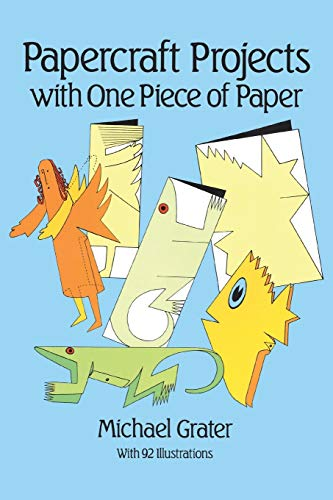 Papercraft projects with one piece of paper other paper for Michaels crafts newington nh