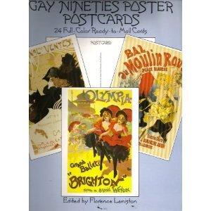9780486255187: Gay Nineties Poster Post Cards