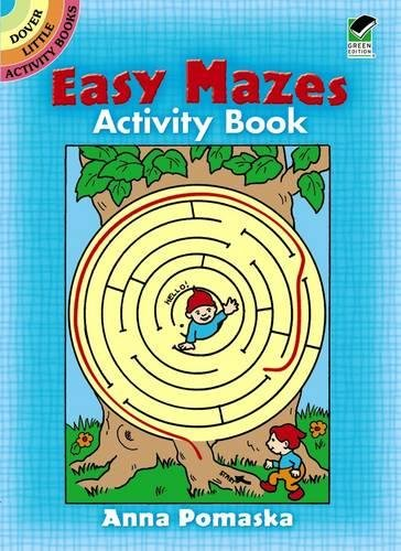 9780486255316: Easy Mazes Activity Book
