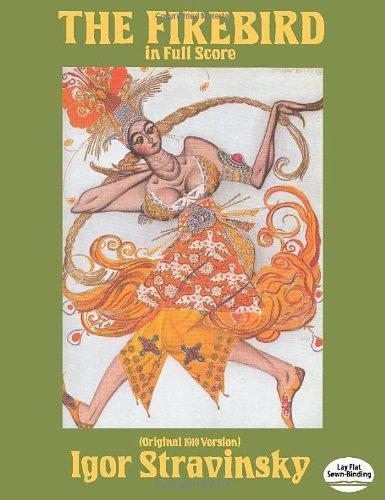 9780486255354: The Firebird in Full Score (Original 1910 Version) (Dover Music Scores)