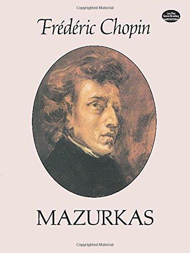 9780486255484: Frederic Chopin: Mazurkas (Dover Music for Piano)