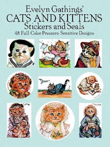 9780486255743: Evelyn Gathings' Cats and Kittens Stickers (Dover Stickers)