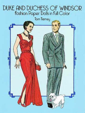 9780486255873: Duke and Duchess of Windsor Fashion Paper Dolls in Full Color