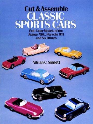9780486256528: Cut and Assemble Classic Sports Cars