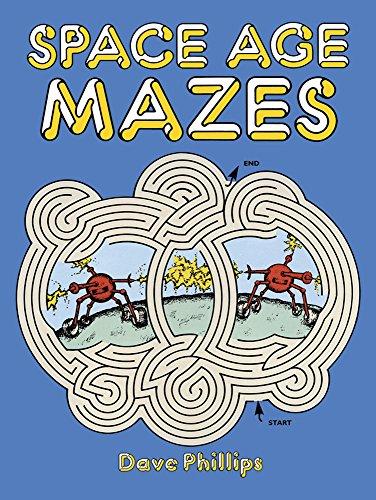 9780486256597: Space Age Mazes (Dover Children's Activity Books)