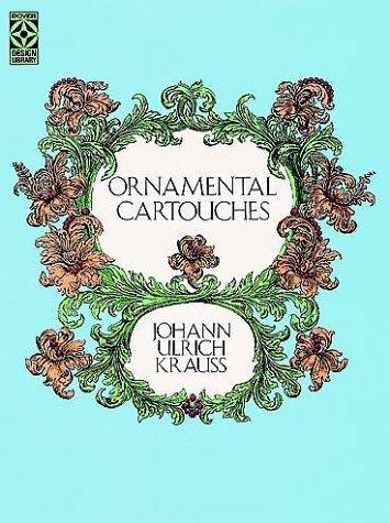 9780486256658: Ornamental Cartouches (Dover Design Library)