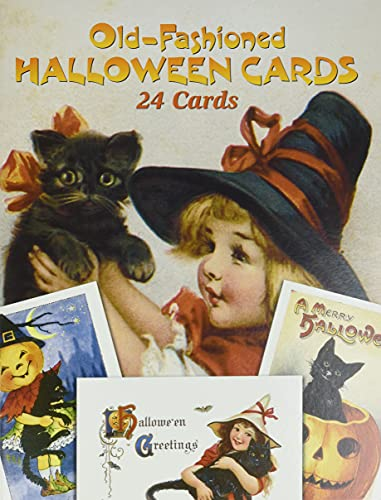 9780486257464: Old-Fashioned Halloween Cards: 24 Cards (Dover Postcards)