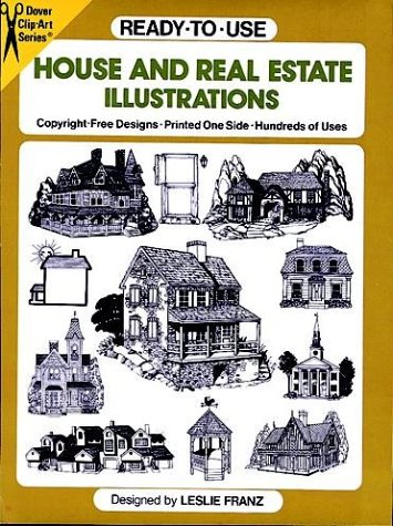 9780486257525: Ready-to-Use House and Real Estate Illustrations (Clip Art Series)