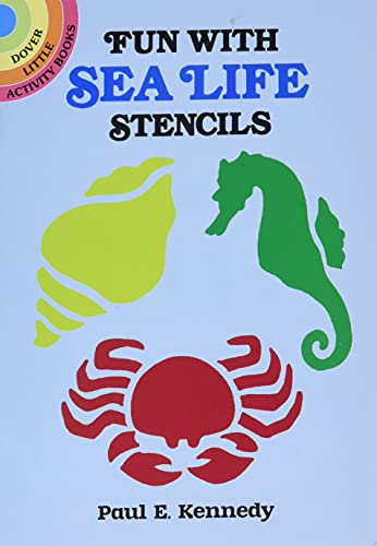 9780486257617: Fun with Sea Life Stencils (Dover Stencils)