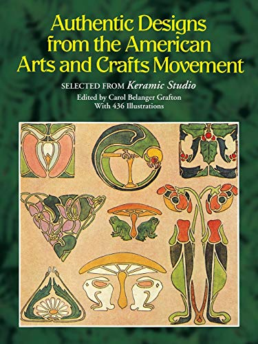 9780486258003: Authentic Designs from the American Arts and Crafts Movement (Dover Pictorial Archive)