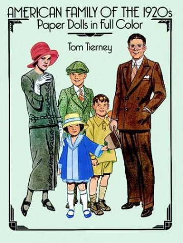 9780486258256: American Family of the 1920s Paper Dolls in Full Color