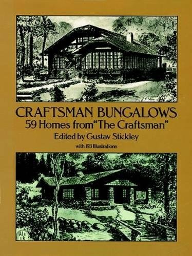 9780486258294: Craftsman Bungalows: 59 Homes from