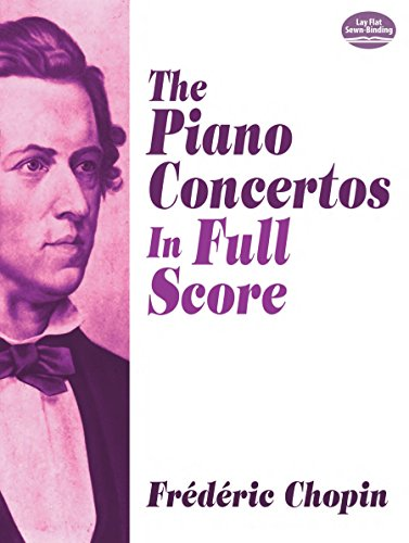 9780486258355: The Piano Concertos in Full Score