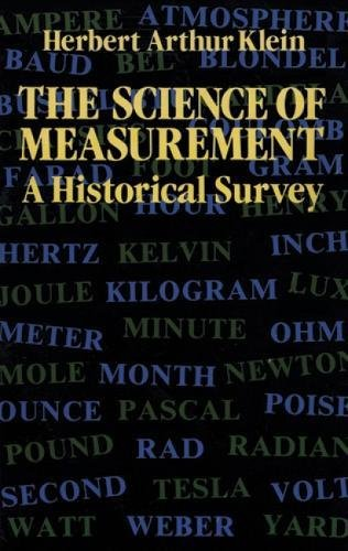 9780486258393: The Science of Measurement: A Historical Survey