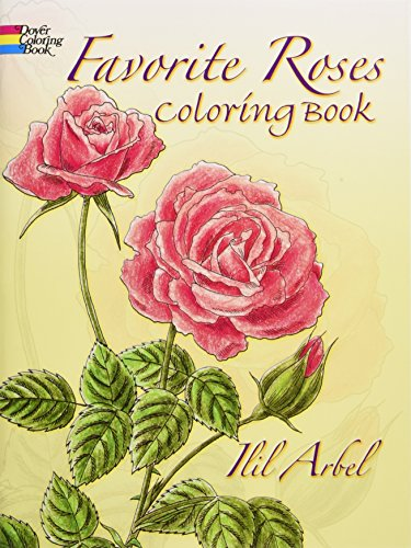 9780486258454: Favorite Roses Coloring Book (Dover Nature Coloring Book)