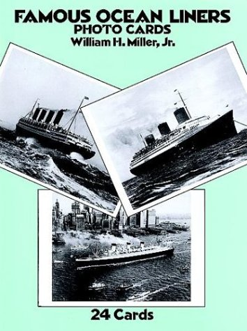 9780486258690: Famous Ocean Liners Photo Postcards (Card Books)