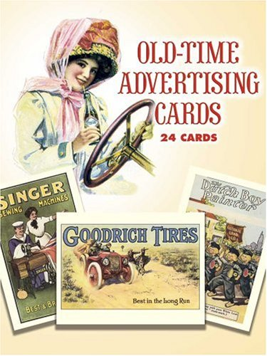 9780486258911: Old-Time Advertising Cards: 24 Full-Color Cards (Dover Postcards)