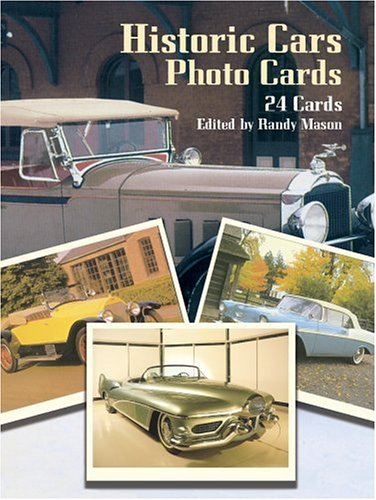 9780486258935: Historic Cars Photo Cards: 24 Cards (Card Books)
