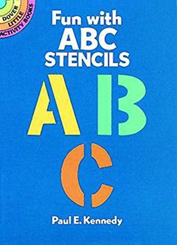 9780486259048: Fun with ABC Stencils (Dover Stencils)