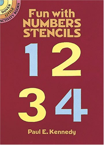 9780486259055: Fun with Numbers Stencils (Dover Little Activity Books)