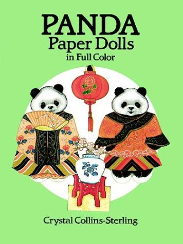 9780486259291: Panda Paper Dolls in Full Color